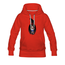 Load image into Gallery viewer, Charlie Ready To Attack Hoodie (Womens) - red