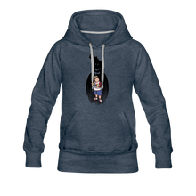 Load image into Gallery viewer, Charlie Ready To Attack Hoodie (Womens) - heather denim