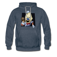 Load image into Gallery viewer, Have An Ice Scream Hoodie (Mens) - heather denim