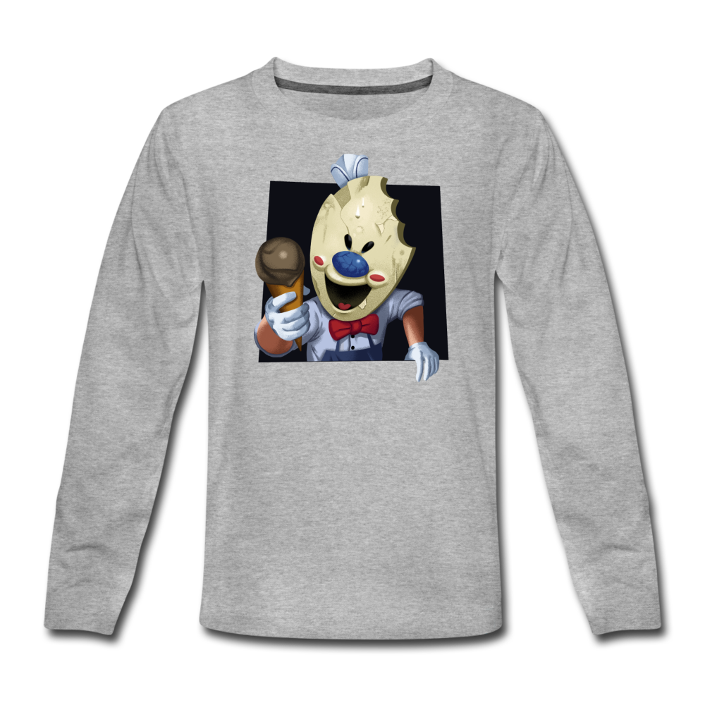 Have An Ice Scream Long-Sleeve T-Shirt - heather gray