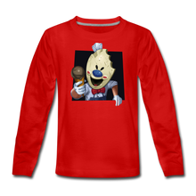 Load image into Gallery viewer, Have An Ice Scream Long-Sleeve T-Shirt - red
