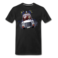 Load image into Gallery viewer, Ice Scream Driving T-Shirt (Mens) - black