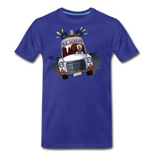 Load image into Gallery viewer, Ice Scream Driving T-Shirt (Mens) - royal blue
