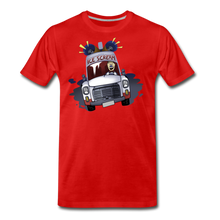 Load image into Gallery viewer, Ice Scream Driving T-Shirt (Mens) - red