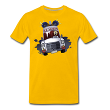 Load image into Gallery viewer, Ice Scream Driving T-Shirt (Mens) - sun yellow