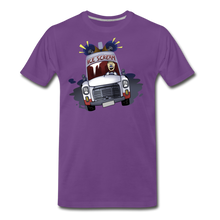 Load image into Gallery viewer, Ice Scream Driving T-Shirt (Mens) - purple