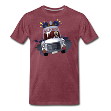 Load image into Gallery viewer, Ice Scream Driving T-Shirt (Mens) - heather burgundy