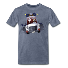 Load image into Gallery viewer, Ice Scream Driving T-Shirt (Mens) - heather blue