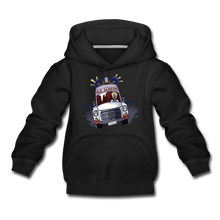 Load image into Gallery viewer, Ice Scream Driving Hoodie - black