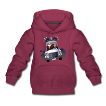 Load image into Gallery viewer, Ice Scream Driving Hoodie - burgundy