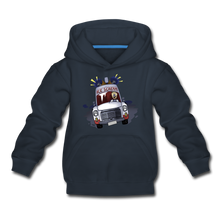 Load image into Gallery viewer, Ice Scream Driving Hoodie - navy