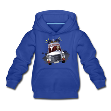 Load image into Gallery viewer, Ice Scream Driving Hoodie - royal blue