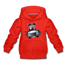 Load image into Gallery viewer, Ice Scream Driving Hoodie - red