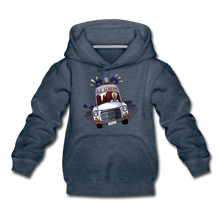 Load image into Gallery viewer, Ice Scream Driving Hoodie - heather denim