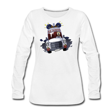 Load image into Gallery viewer, Ice Scream Long-Sleeve T-Shirt (Womens) - white