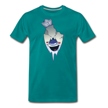 Load image into Gallery viewer, Rod Melting T-Shirt (Mens) - teal