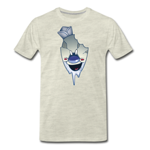 Load image into Gallery viewer, Rod Melting T-Shirt (Mens) - heather oatmeal