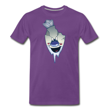 Load image into Gallery viewer, Rod Melting T-Shirt (Mens) - purple