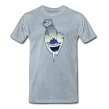 Load image into Gallery viewer, Rod Melting T-Shirt (Mens) - heather ice blue