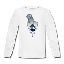 Load image into Gallery viewer, Rod Melting Long-Sleeve T-Shirt - white