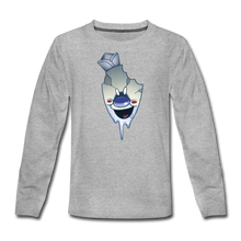 Load image into Gallery viewer, Rod Melting Long-Sleeve T-Shirt - heather gray