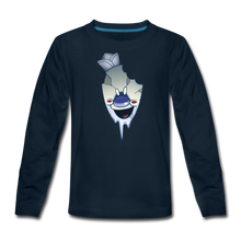 Load image into Gallery viewer, Rod Melting Long-Sleeve T-Shirt - deep navy