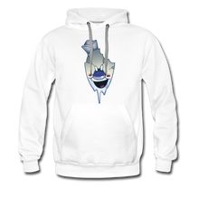 Load image into Gallery viewer, Rod Melting Hoodie (Mens) - white