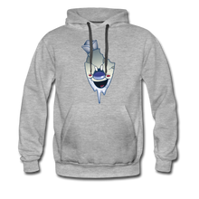 Load image into Gallery viewer, Rod Melting Hoodie (Mens) - heather gray