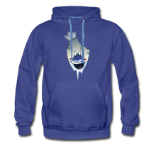 Load image into Gallery viewer, Rod Melting Hoodie (Mens) - royalblue