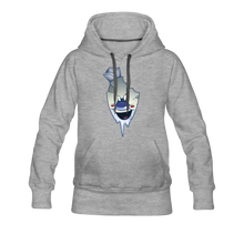 Load image into Gallery viewer, Rod Melting Hoodie (Womens) - heather gray