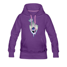 Load image into Gallery viewer, Rod Melting Hoodie (Womens) - purple