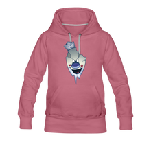Load image into Gallery viewer, Rod Melting Hoodie (Womens) - mauve