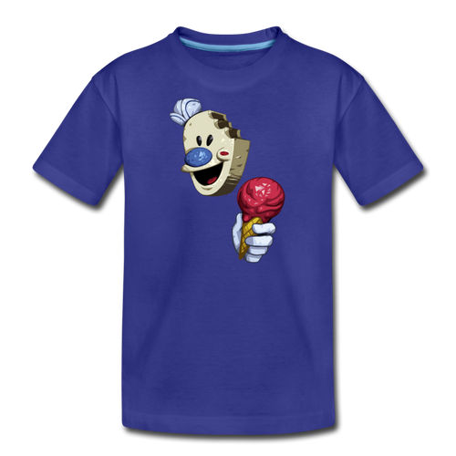 The Ice Scream Man T-Shirt - royal blue