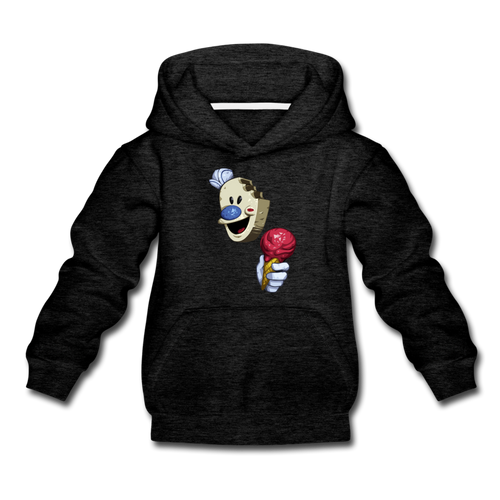 The Ice Scream Man Hoodie - charcoal gray