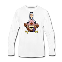 Load image into Gallery viewer, Evil Nun Gummy Long-Sleeve T-Shirt (Mens) - white