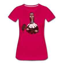 Load image into Gallery viewer, Evil Nun Hammer T-Shirt (Womens) - dark pink