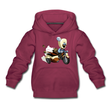 Load image into Gallery viewer, Evil Nun Joseph Hoodie - burgundy