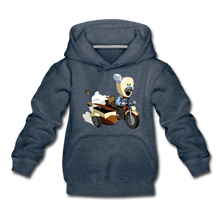 Load image into Gallery viewer, Evil Nun Joseph Hoodie - heather denim