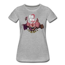 Load image into Gallery viewer, Evil Nun Mutant Chickens T-Shirt (Womens) - heather gray