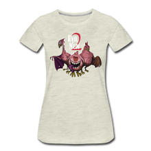Load image into Gallery viewer, Evil Nun Mutant Chickens T-Shirt (Womens) - heather oatmeal