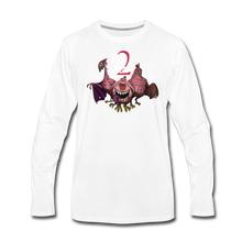 Load image into Gallery viewer, Evil Nun Mutant Chickens Long-Sleeve T-Shirts (Mens) - white