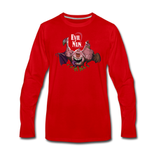 Load image into Gallery viewer, Evil Nun Mutant Chickens Long-Sleeve T-Shirts (Mens) - red