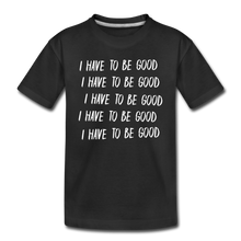 Load image into Gallery viewer, Evil Nun Be Good T-Shirt - black
