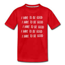 Load image into Gallery viewer, Evil Nun Be Good T-Shirt - red