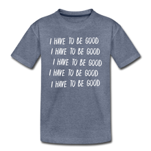 Load image into Gallery viewer, Evil Nun Be Good T-Shirt - heather blue