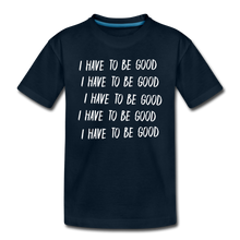 Load image into Gallery viewer, Evil Nun Be Good T-Shirt - deep navy