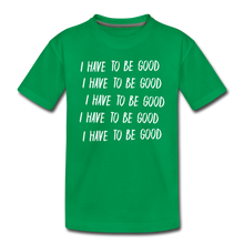Load image into Gallery viewer, Evil Nun Be Good T-Shirt - kelly green