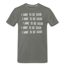 Load image into Gallery viewer, Evil Nun Be Good T-Shirt (Mens) - asphalt gray