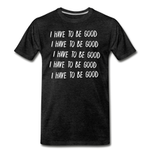 Load image into Gallery viewer, Evil Nun Be Good T-Shirt (Mens) - charcoal gray
