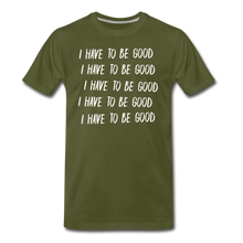 Load image into Gallery viewer, Evil Nun Be Good T-Shirt (Mens) - olive green